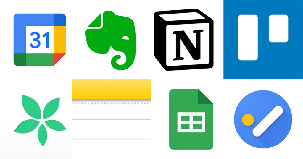 様々なアプリ