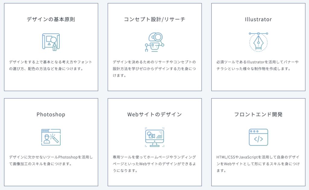 テックキャンプデザイナー転職公式サイト_スキルについて