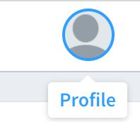 ユーザーアイコンを選択