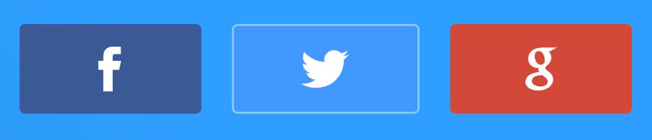 ソーシャルログインのボタン