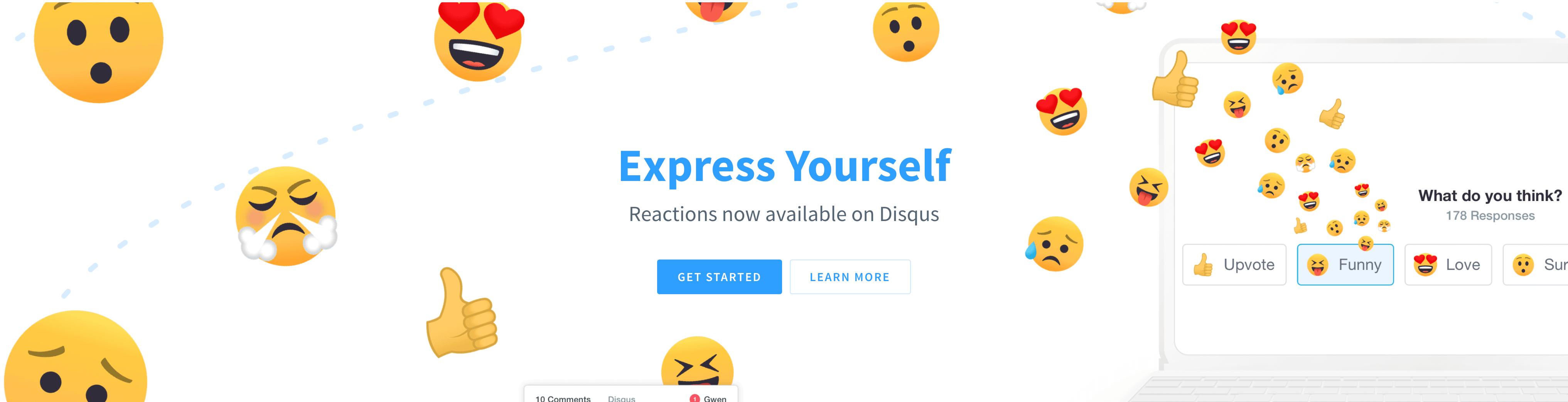 DISQUS公式サイト